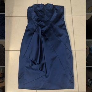 The Limited blue cocktail mini dress